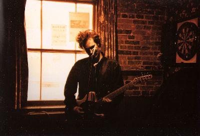 Jeff Buckley, spelend op zijn Fender Telecaster